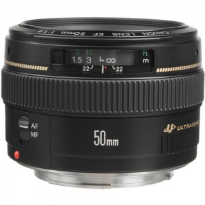 Canon EF 50mm 1-4