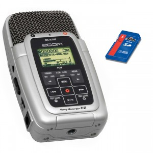 Zoom H2 Portable Field Audio Recorder Mke Production Rental