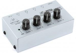 behringer headphone mixer distribution amplifier mke production rental. Black Bedroom Furniture Sets. Home Design Ideas