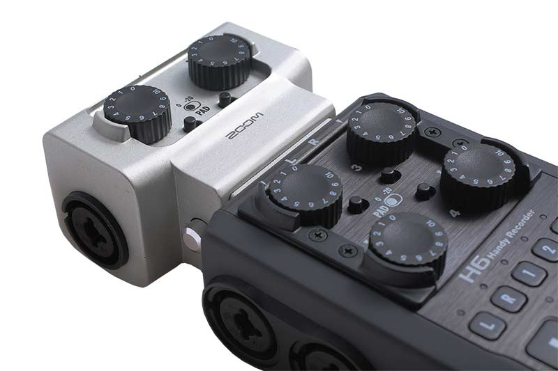 Zoom H6 6-Track Audio Recorder | MKE Production Rental