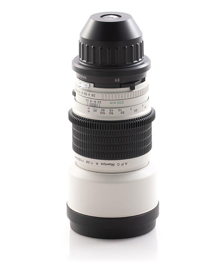 200mm Cine Lens
